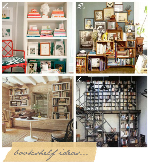 how to decorate bookshelves without books 2