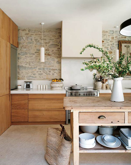 Kitchen Island Open Shelves birch + bird vintage home interiors » blog archive » open shelves
