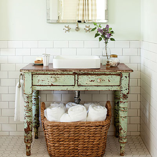 Home interiors 187 blog archive 187 budget style vintage vanities