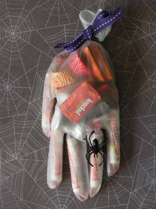 Diy halloween party ideas for Diy plastic gloves