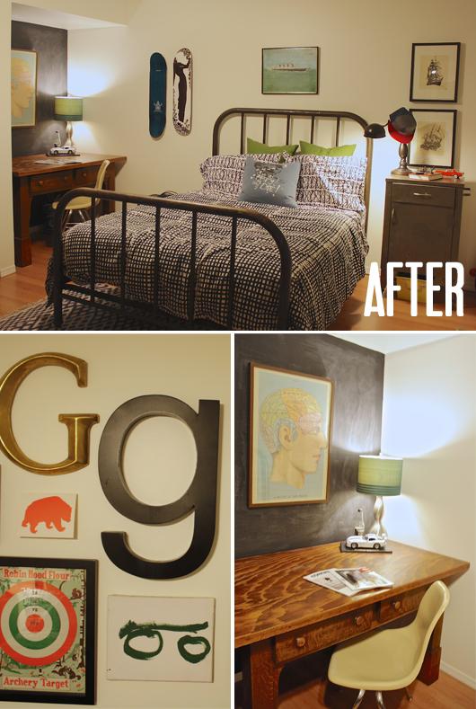 """Birch + Bird: Gabe's room """"After"""""""