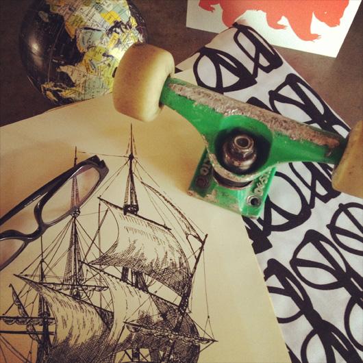 "Birch + Bird: Gabe's room ""Inspiration"""