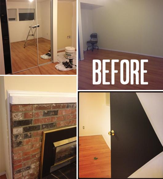 """Birch + Bird: Gabe's Room """"Before"""""""