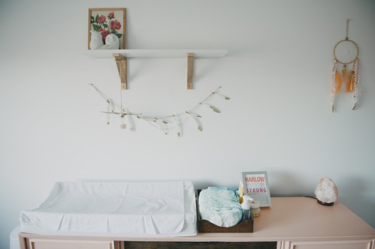 Birch + Bird: Harlow Lang's Nursery. Jayme Anne Photography.