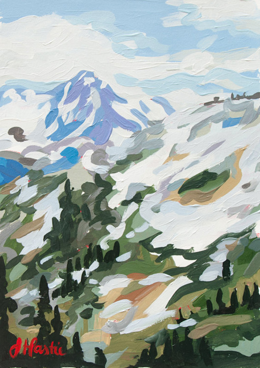 Birch + Bird: Whistler Peak by Joanne Hastie
