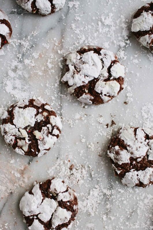 Peppermint Chocolate Crackles by Say Yes to Hoboken