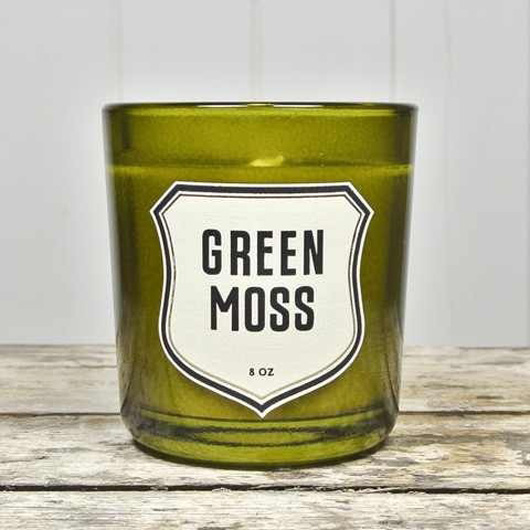 Spruce Collective: Izola Green Moss Candle $35