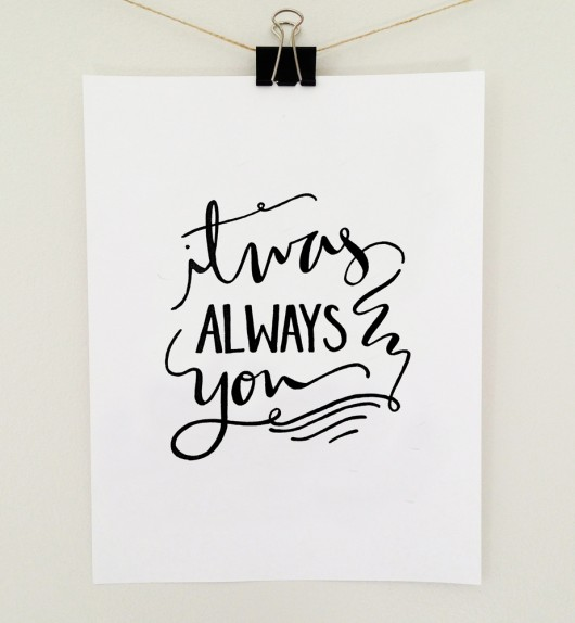 Jenny Highsmith: It Was Always You Print