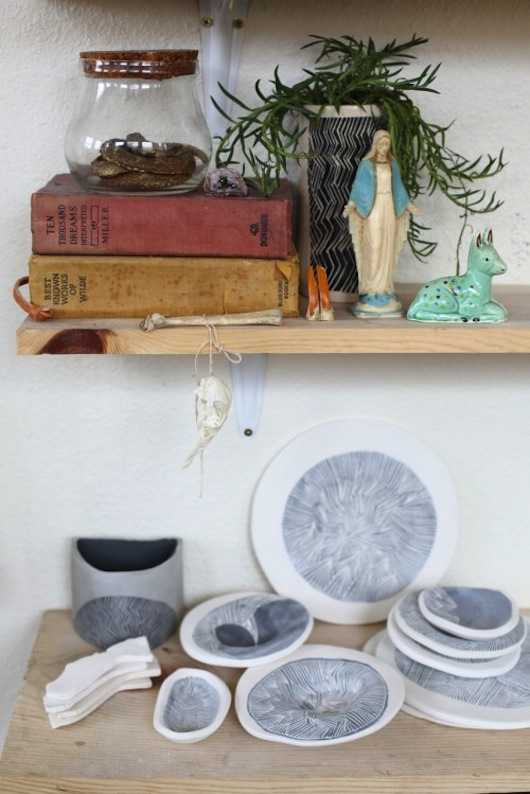 Design*Sponge. Young in the Mountains studio. Photo by Kelly Ishikawa.