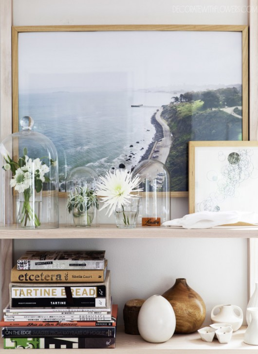 Decorating with Flowers by Holly Becker + Leslie Shewring