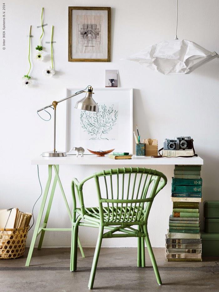 Ikea greenroom inspiration 1