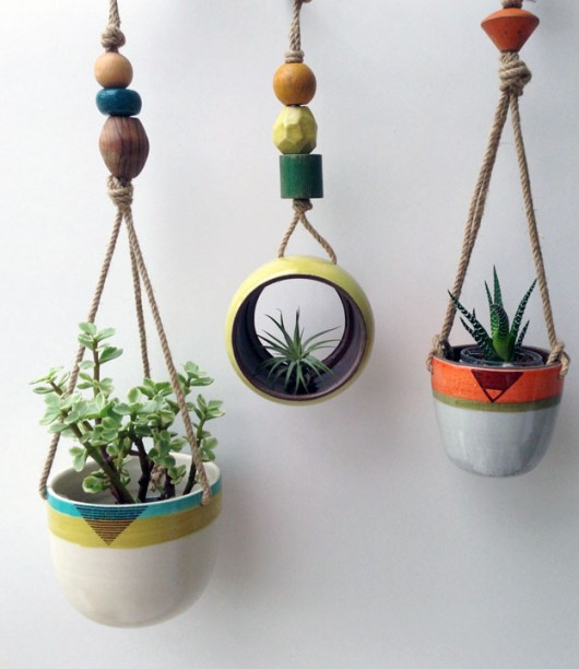 Ceramic Planters by Cathy Terepocki