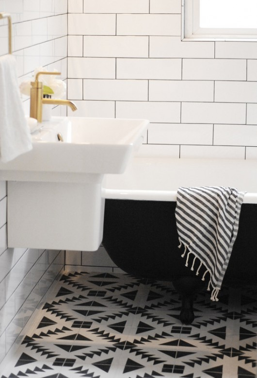 29th Ave Bathroom Makeover | Capree Kimball