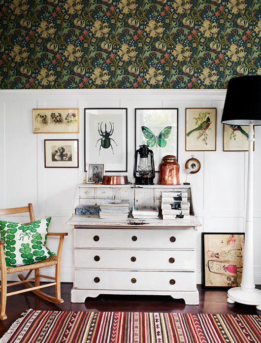 Botanical prints + wallpaper | Photo by Idha Lindhag via SF Girl by Bay