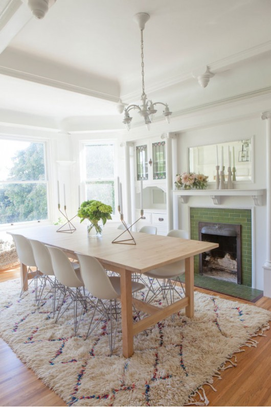 Dining Room Makeover | Oh Happy Day | Photo: Paul Ferney