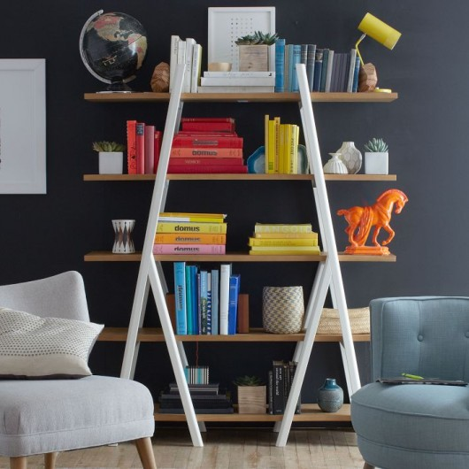 West Elm: Ladder Bookshelf