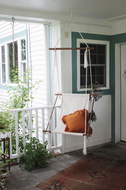 DIY Hanging Chair | The Merry Thought