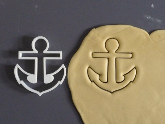 Anchor cookie cutter by Printmeneer